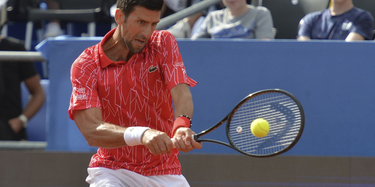 Tennis No. 1 Novak Djokovic, wife have virus after his exhibitions