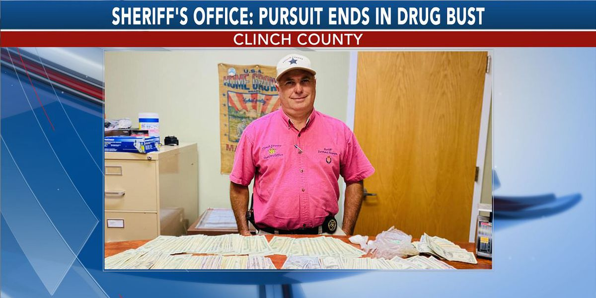 Clinch Co. Sheriff's Office: Pursuit ends in drug bust