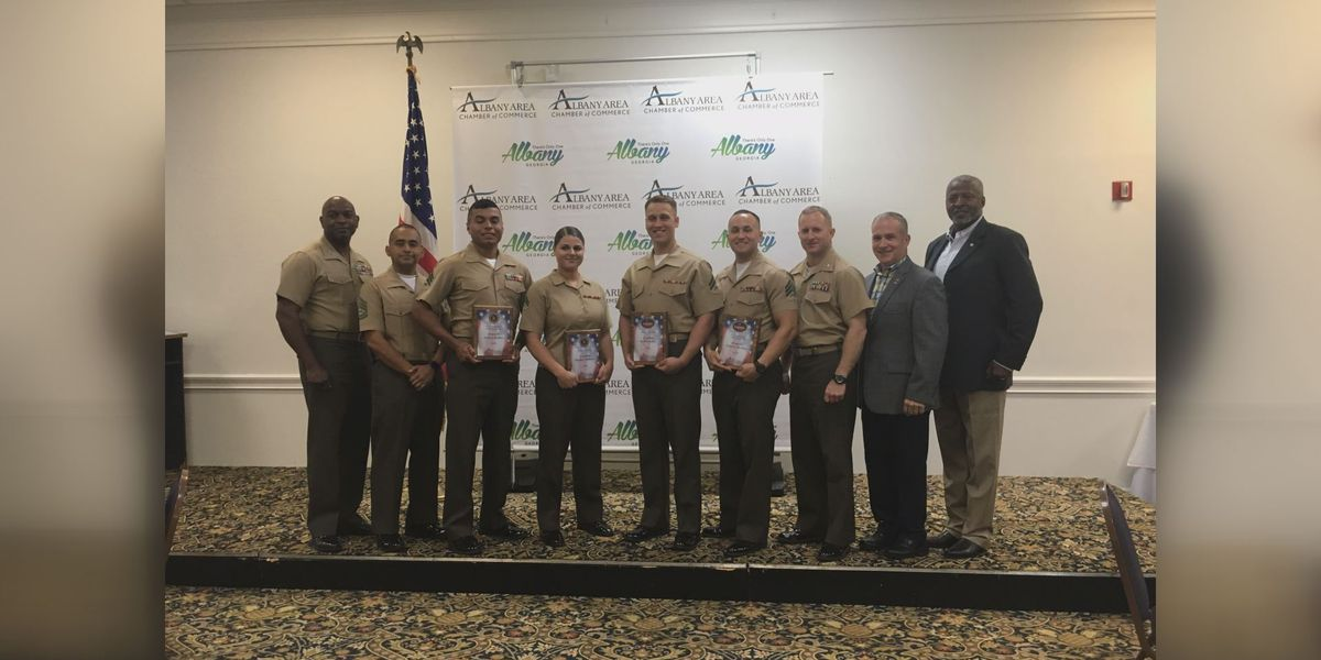 Albany Chamber celebrates our military