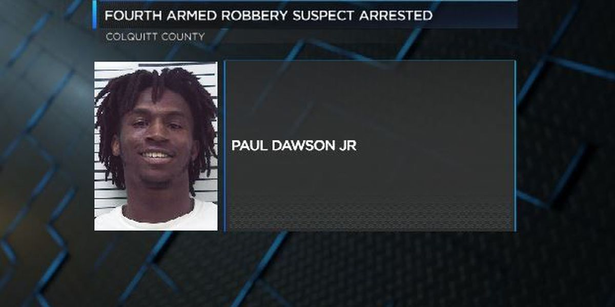 Fourth suspect arrested in connection to armed robberies