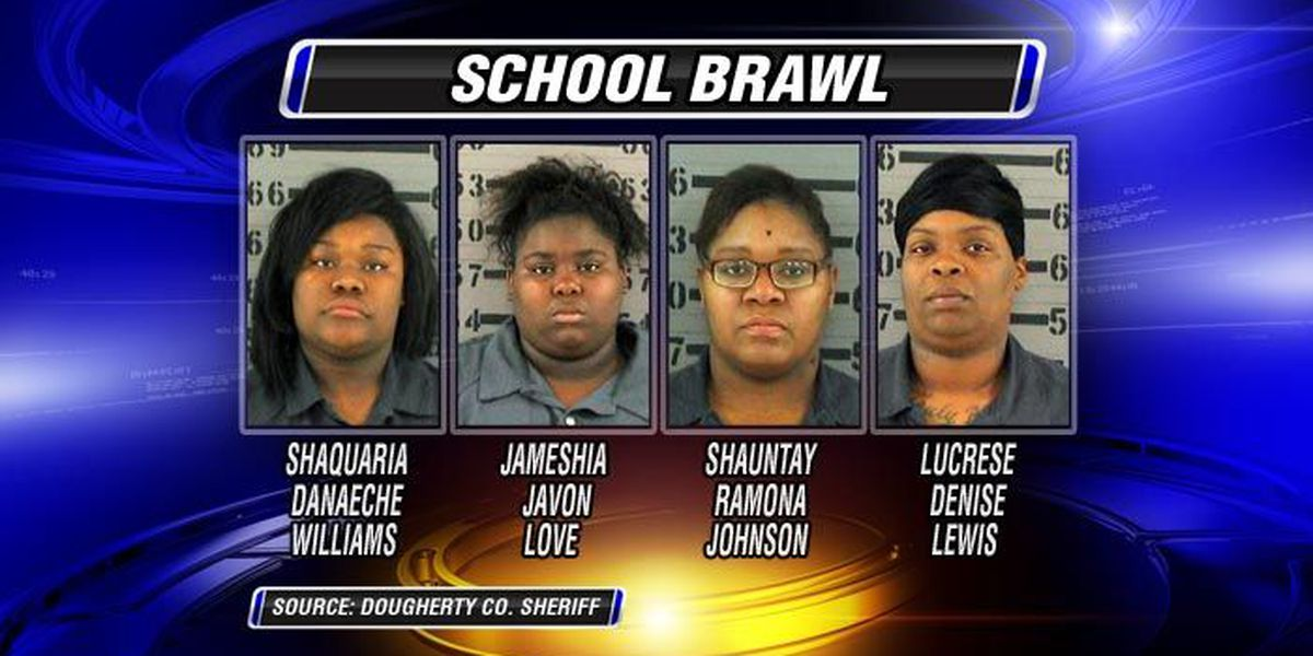 Students, moms arrested after high school brawl