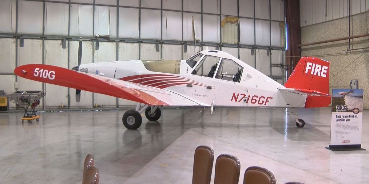 Thrush delivers firefighting aircraft to Georgia Forestry