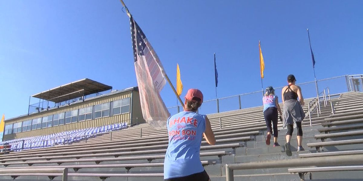 Thomasville residents climb stairs and honor 9/11 first repsonders