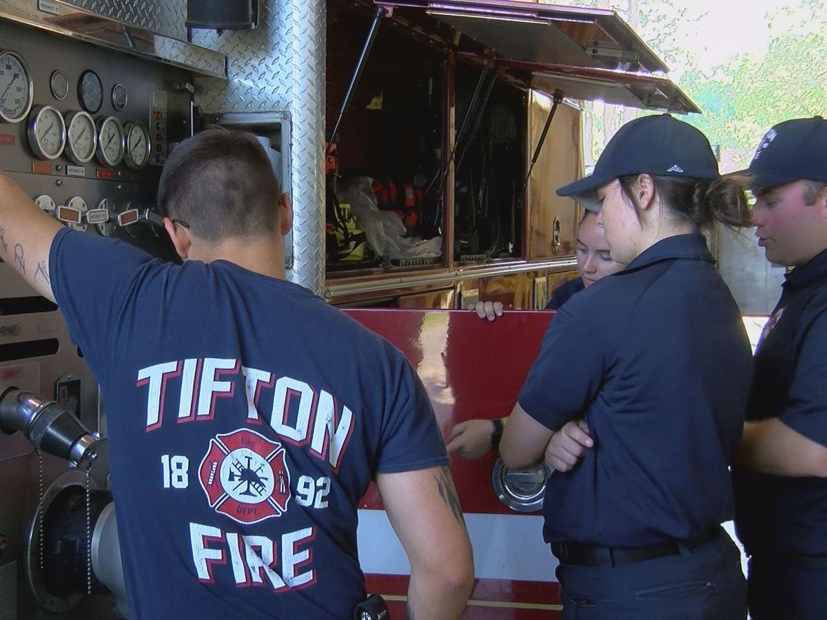 Tifton Fire Department gains recruits