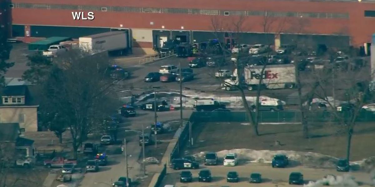 Shooter apprehended after wounding multiple people at suburban Chicago business