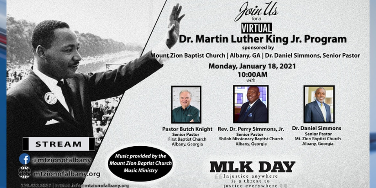 Mt. Zion Baptist set to host virtual MLK Day program