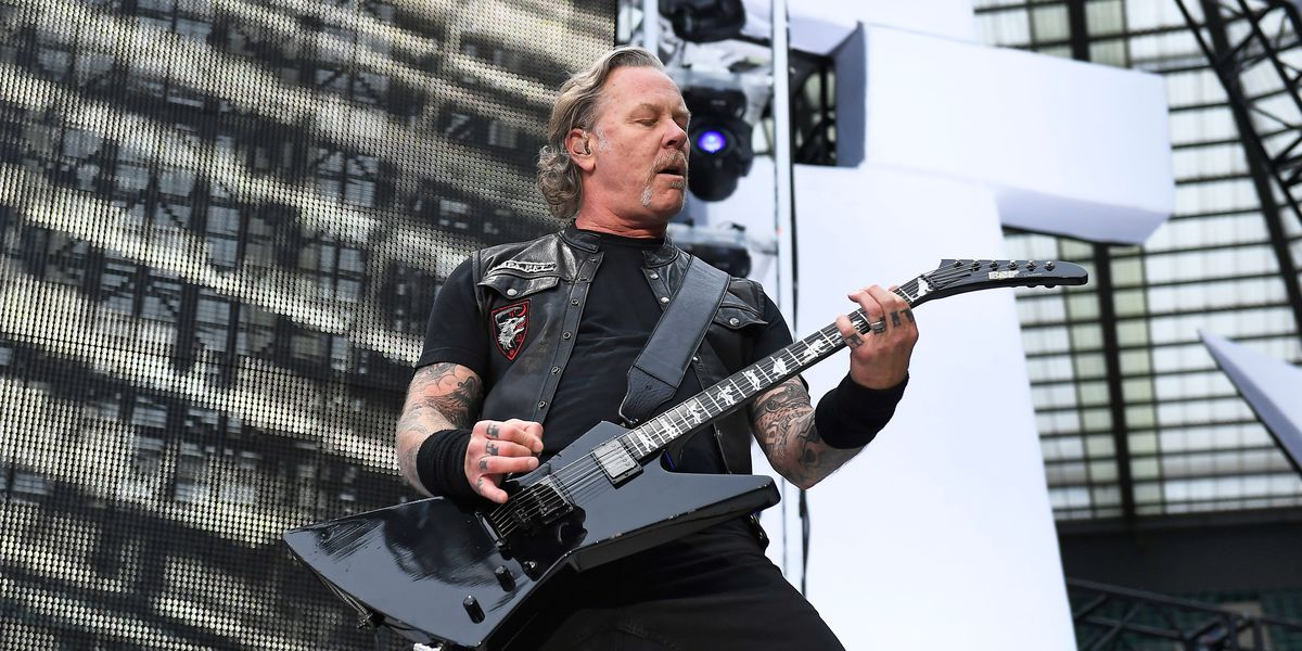 Metallica's James Hetfield enters rehab; tour dates canceled