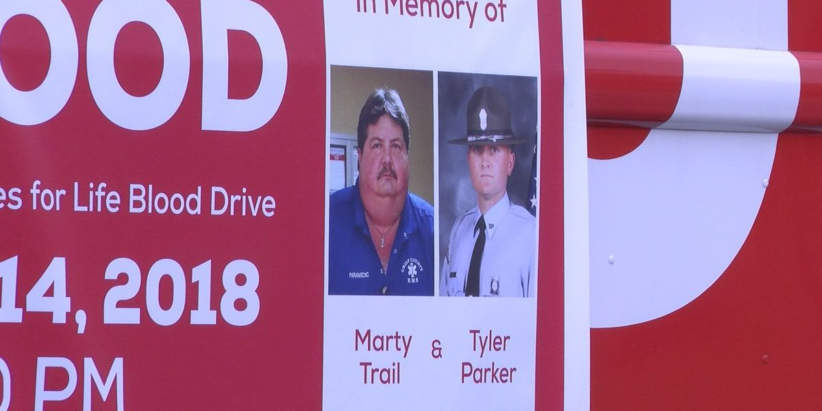 Blood Drive held to honor two fallen first responders