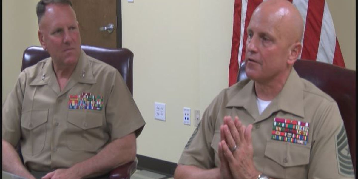 Marine Corps Logistics Command Officers start new chapter