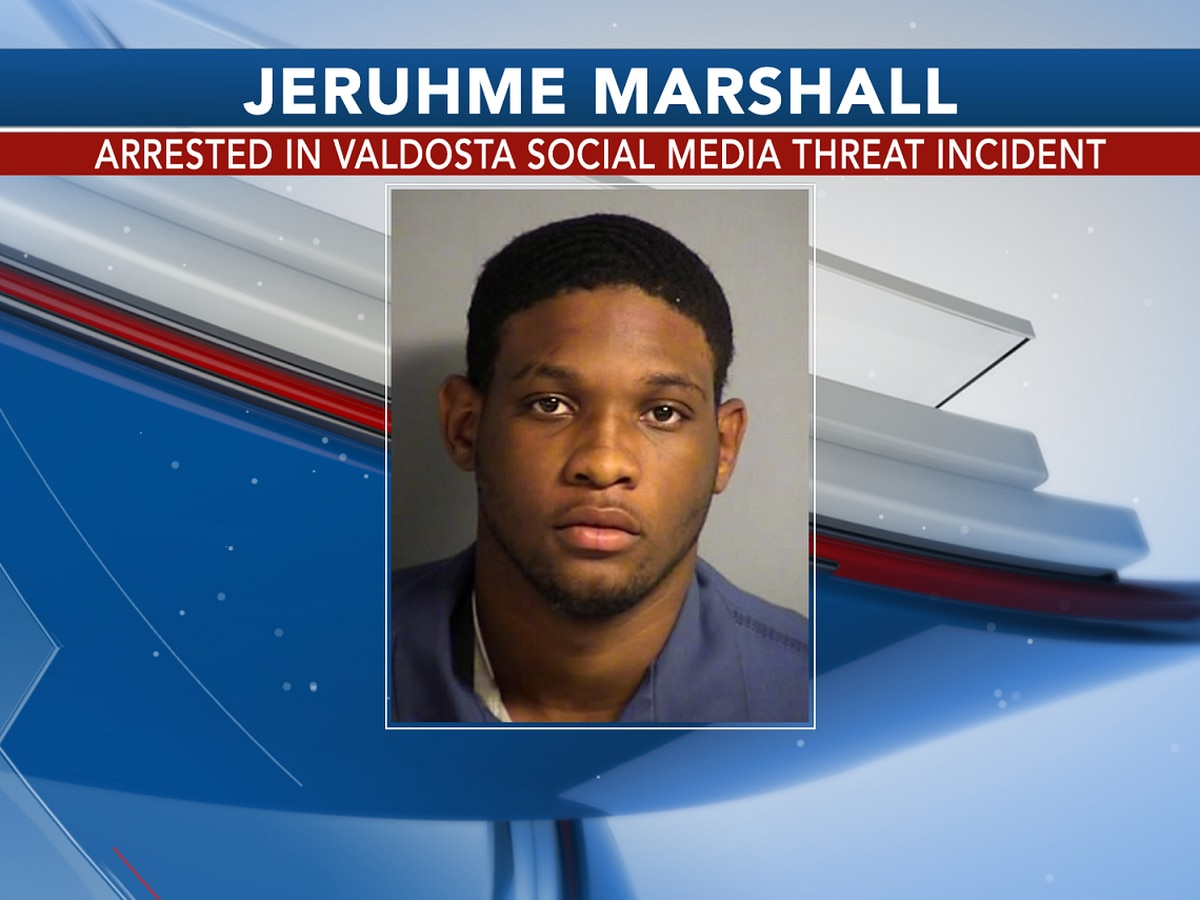 Valdosta man arrested after threatening officer on social media
