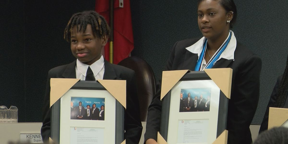DCSS students win big at international competition