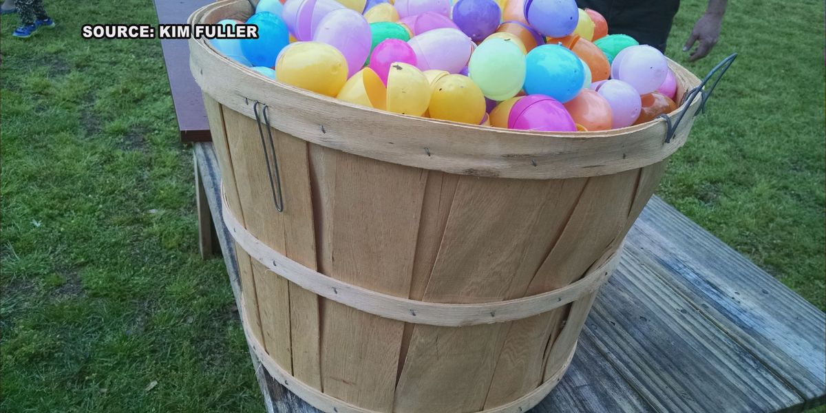 Easter egg hunt held at Jimmy Carter Boyhood Farm