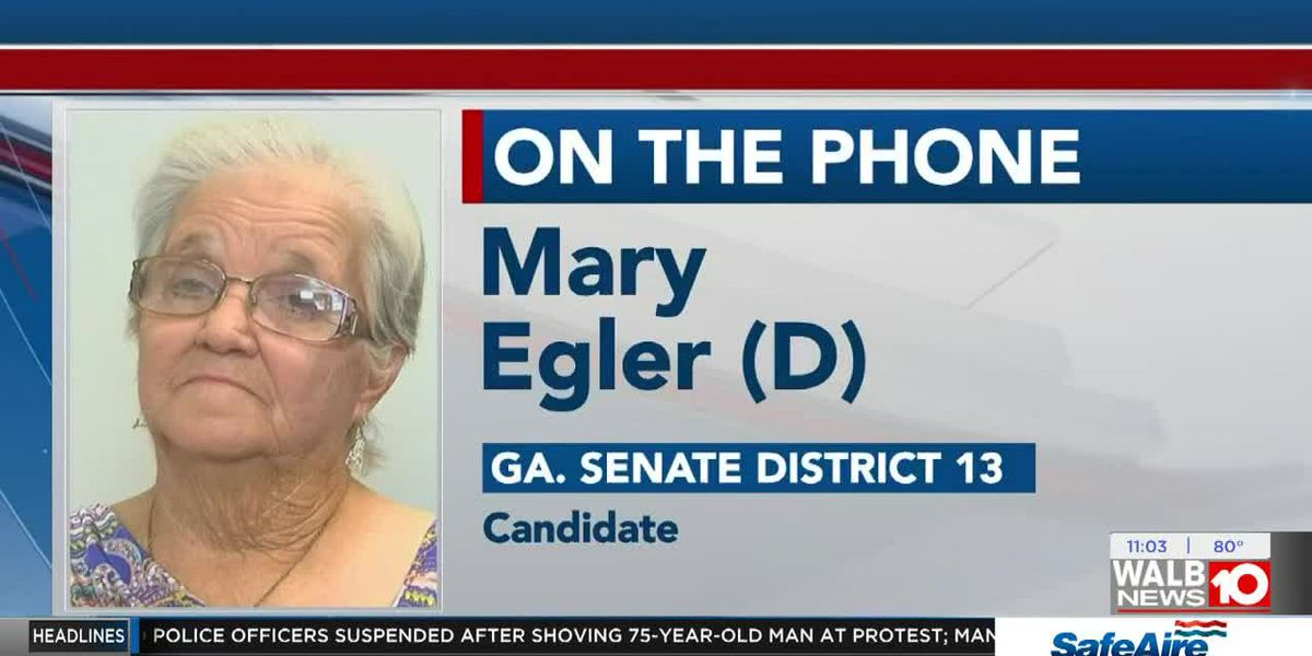 Mary Egler hoping to become Democratic nominee for Senate seat Tuesday