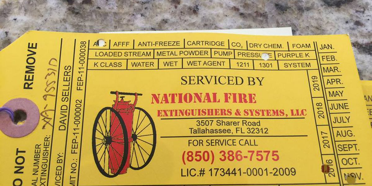 Fire extinguisher scam has Thomasville police warning businesses