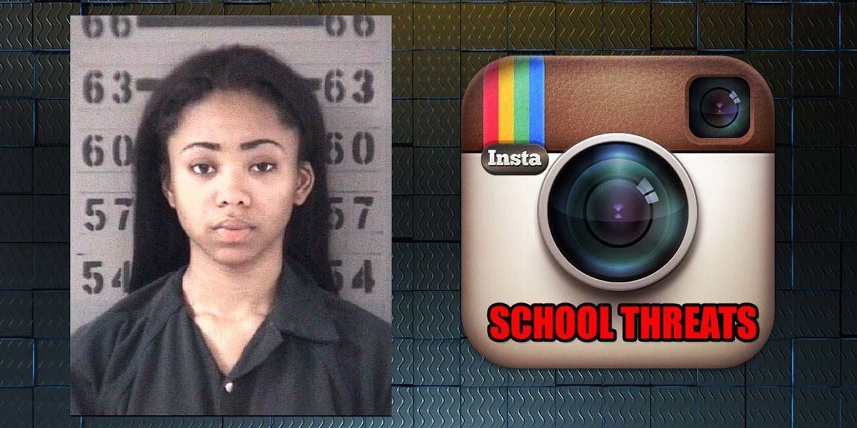 Teen arrested after Instagram video threat