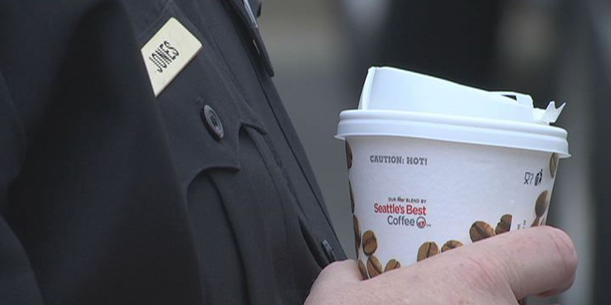Sylvester Police hold Coffee with Cops event