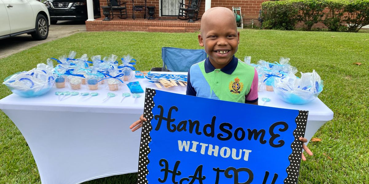 Albany mother hosts Alopecia awareness parade for son