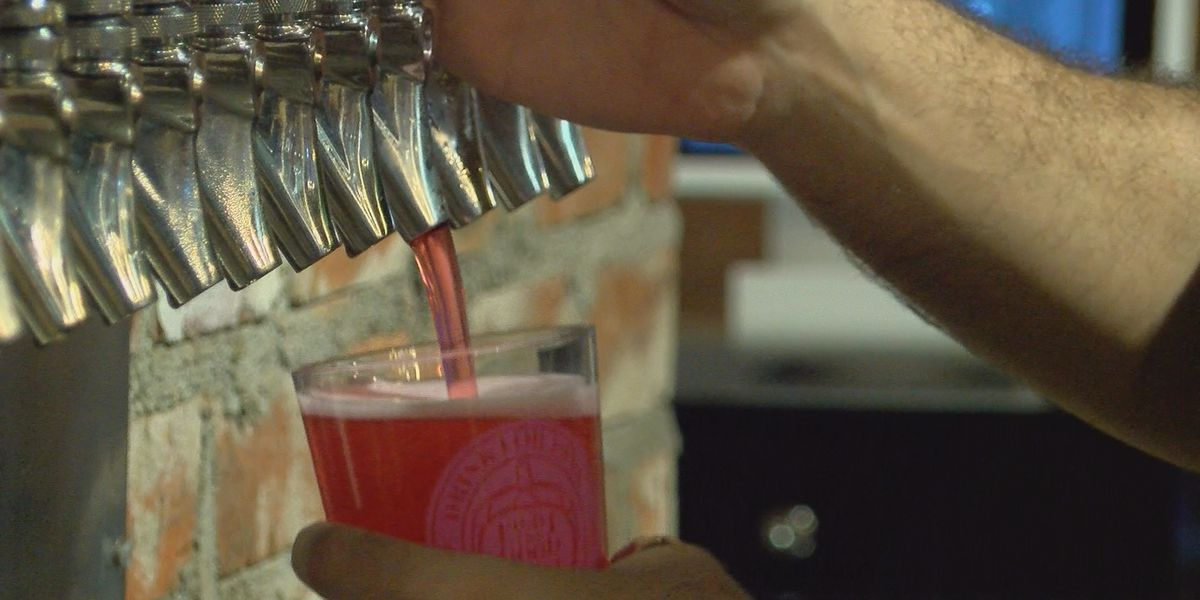 Pink beer helps raise money for mammograms