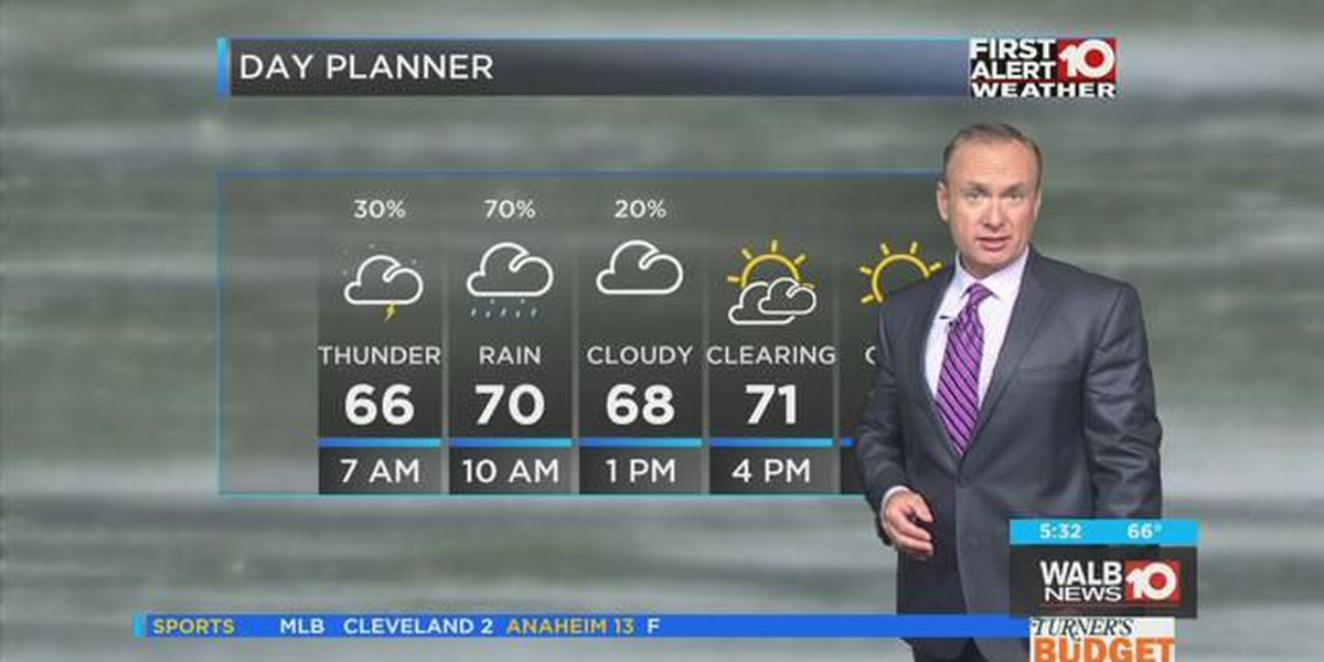 First Alert Forecast: Rain to Sun, Mild to Cold