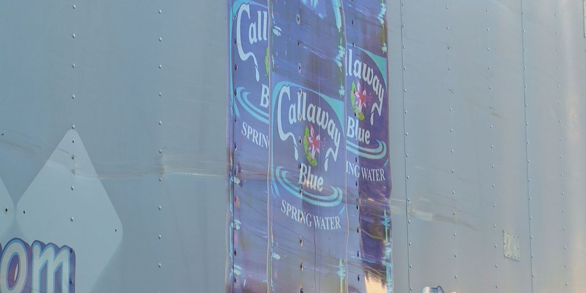 Callaway Blue Springs donates thousand of water bottles for storm victims