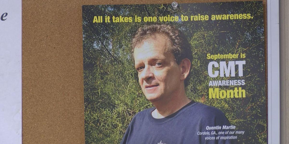 Cordele man graces national campaign poster for CMT disease