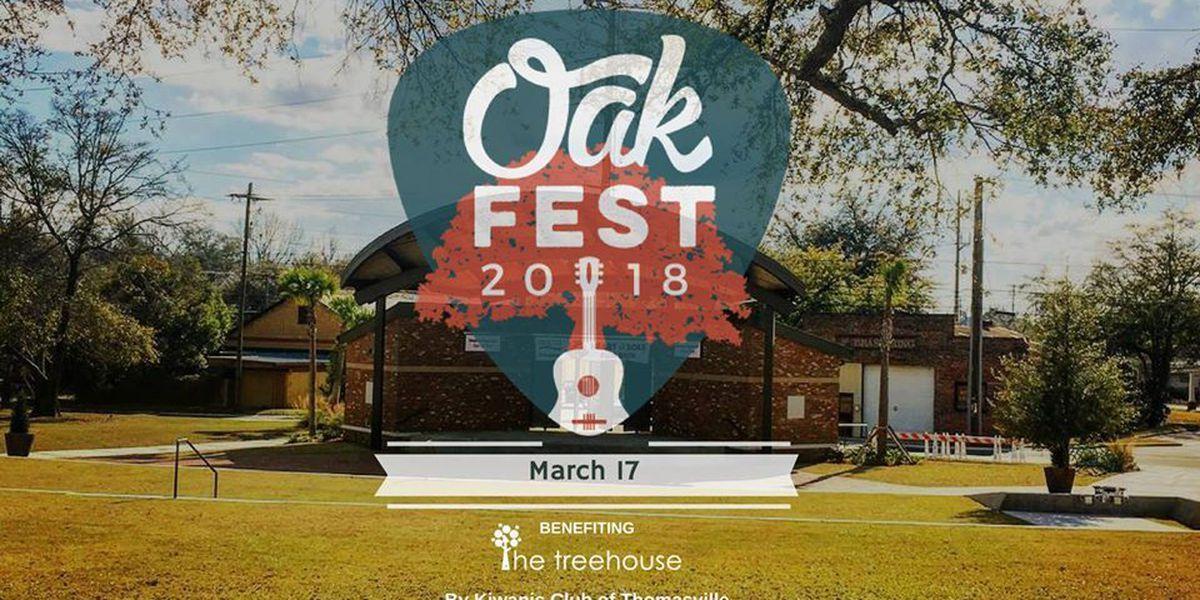 Thomasville Oakfest 2018 to benefit child advocacy center