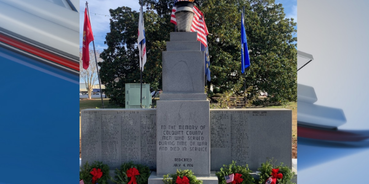 Over 500 wreaths laid in Moultrie for 'Wreaths Across America'