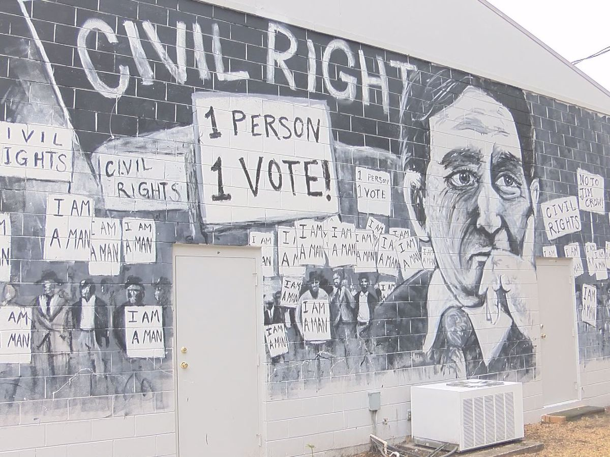 Fitzgerald mural illustrates Civil Rights icon