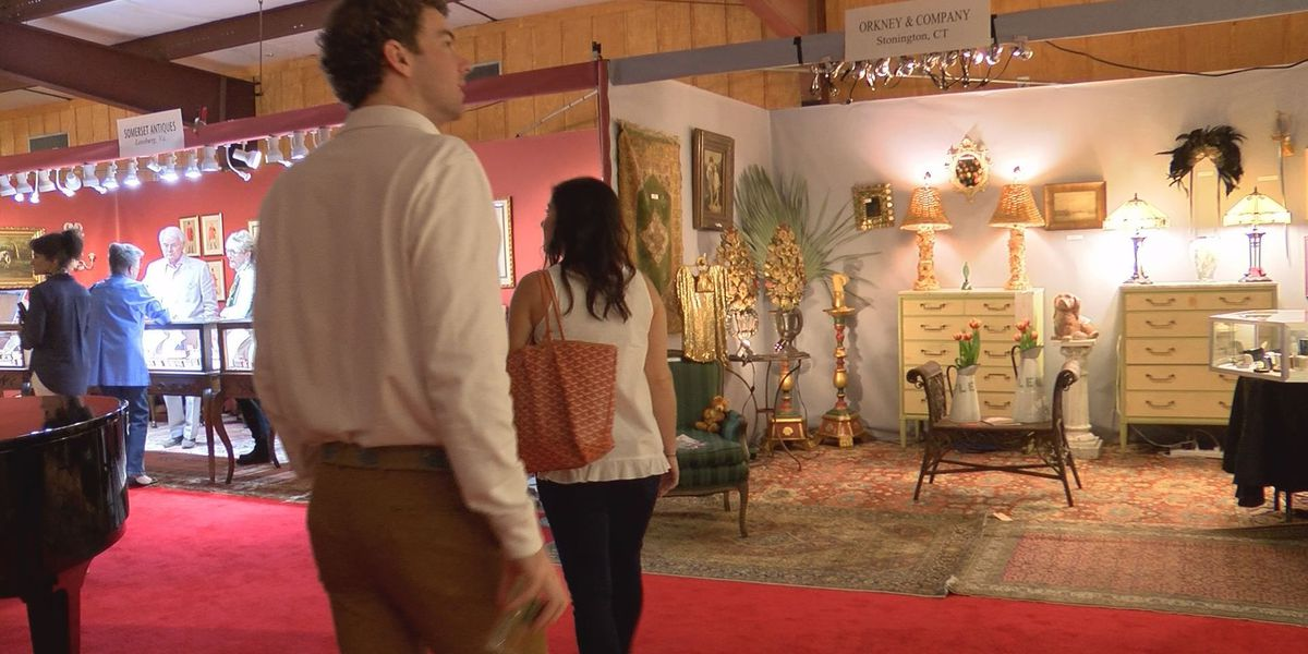 Annual antique show begins in Thomasville