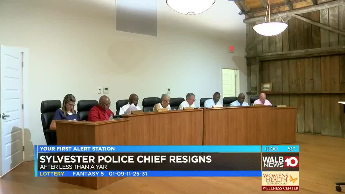 Search for new Sylvester police chief begins as current chief resigns