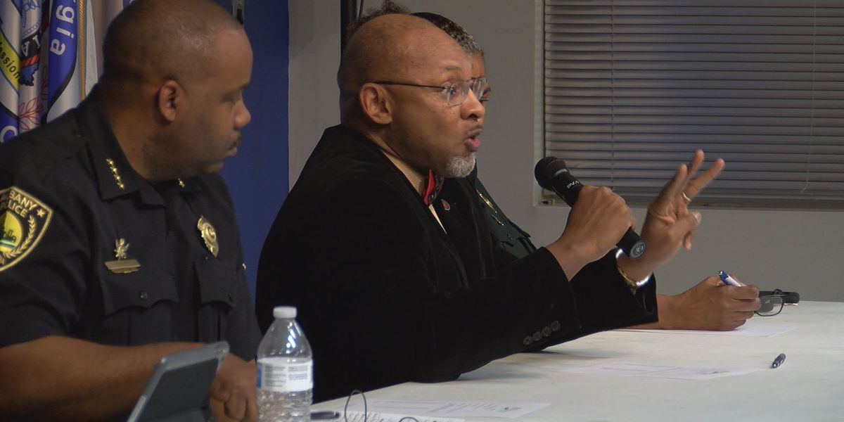 Crime concerns discussed with Albany law enforcement heads