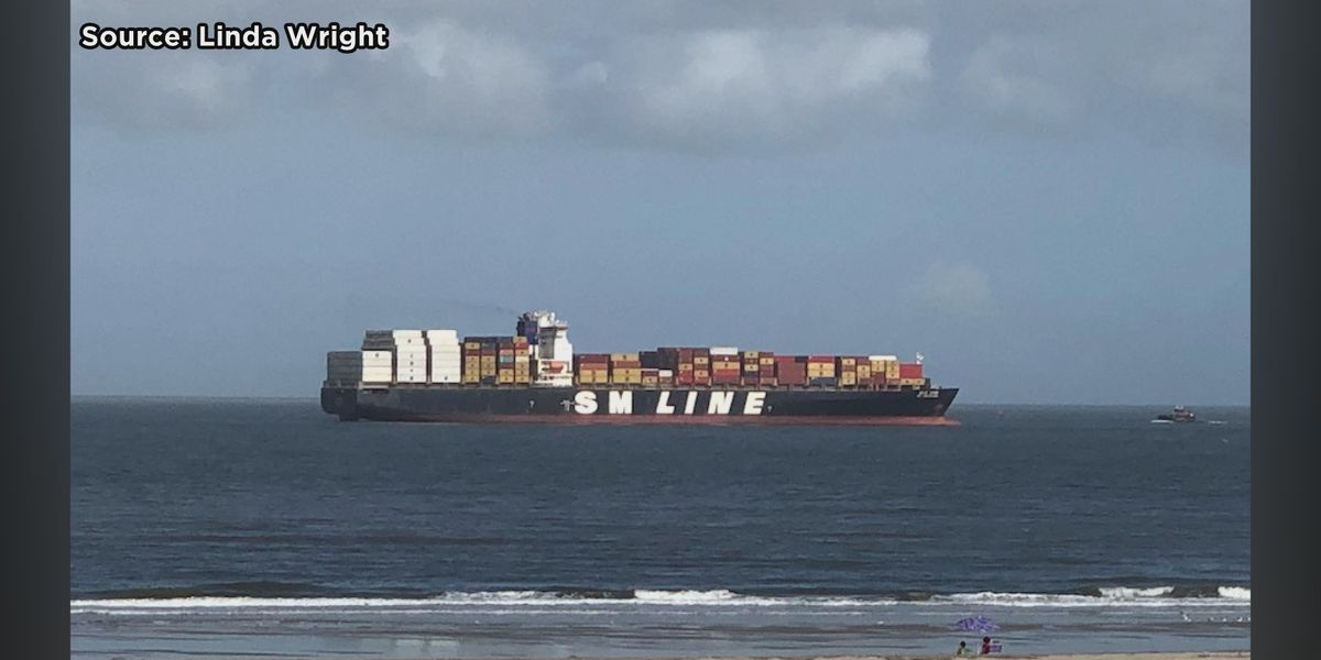 Container ship removed from Tybee Island waters