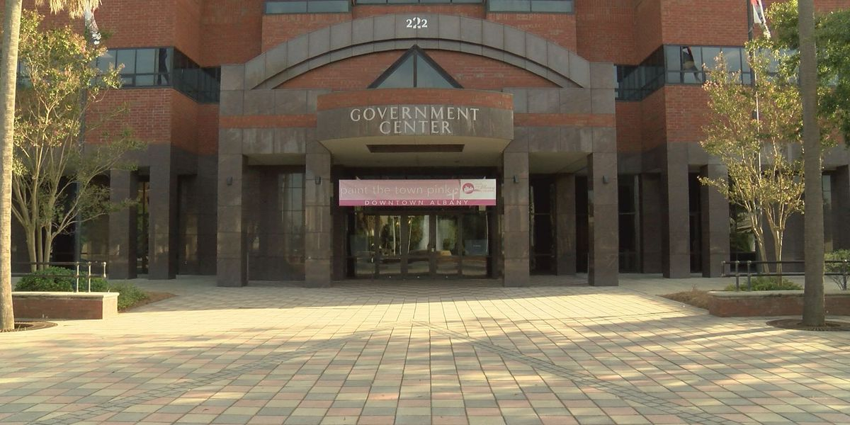 Downtown Albany gets painted pink