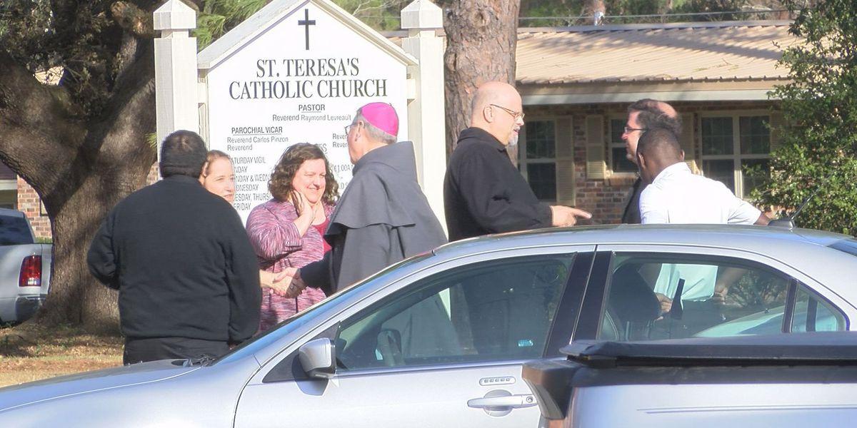 Archbishop visits St. Teresa's School