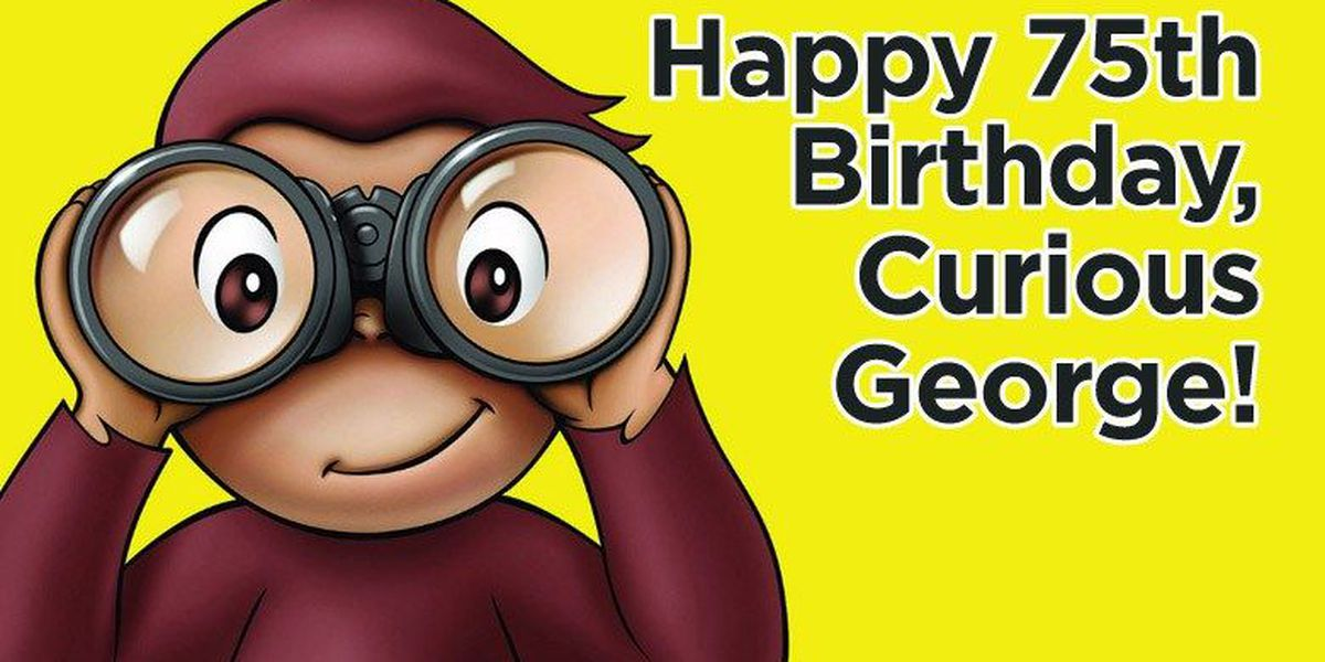 Curious George is 75!