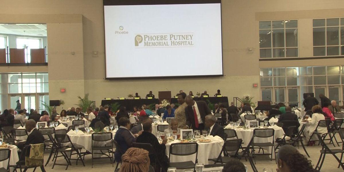 Dozens gather for Albany's King Celebration