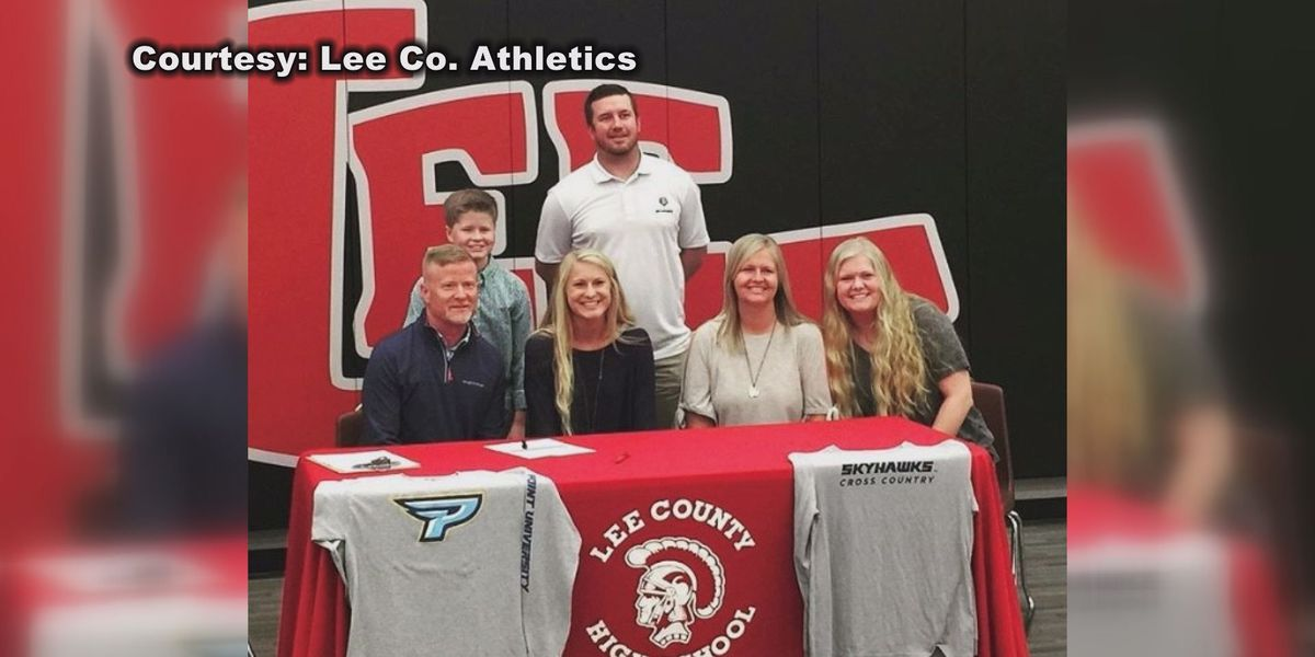 Three Lee County student-athletes put pen to paper