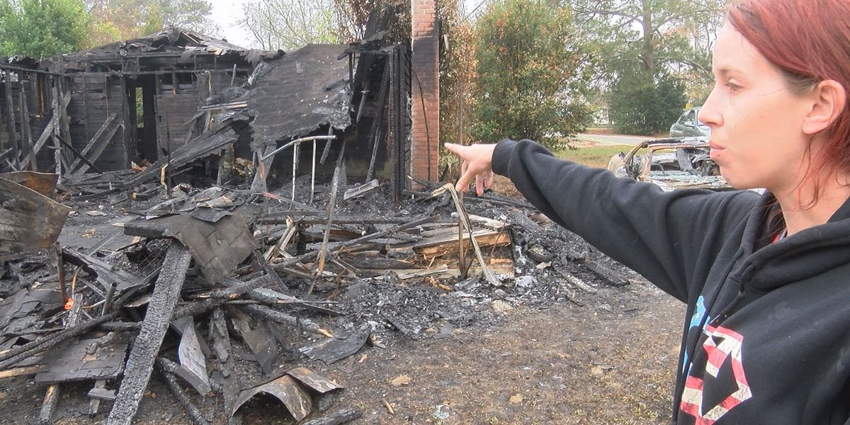 """Woman """"lost everything"""" in house fire"""