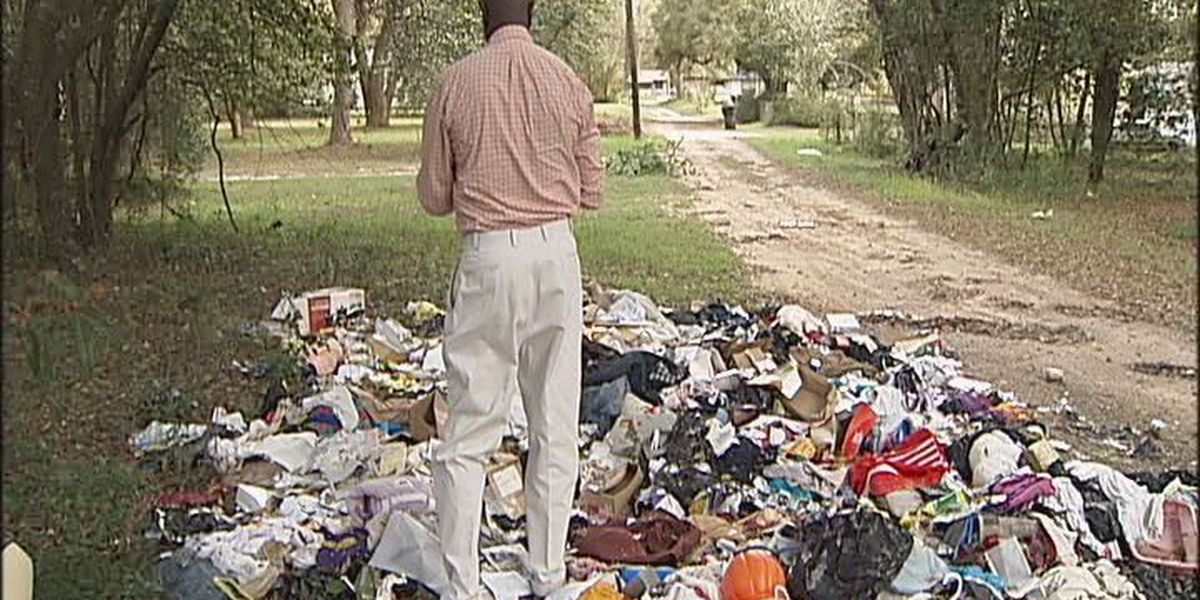 Albany commissioner discovers illegal dump site