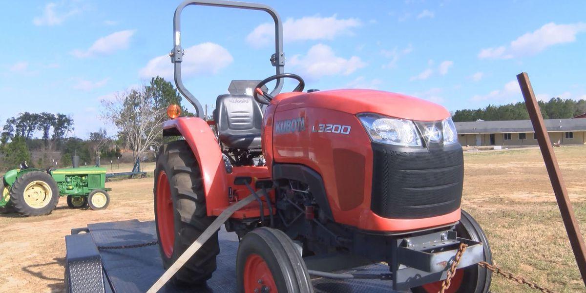 Stolen tractor returned after reward offered