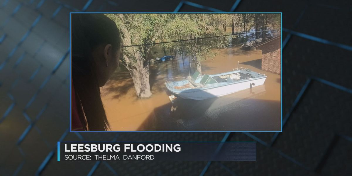 Flooding causes stress for Lee County victim