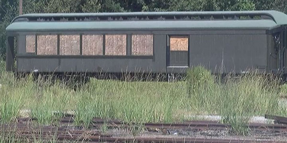 SPLOST dollars at work to help stabilize historic train depot