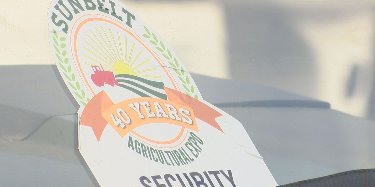 Security is top priority at Sunbelt Ag Expo