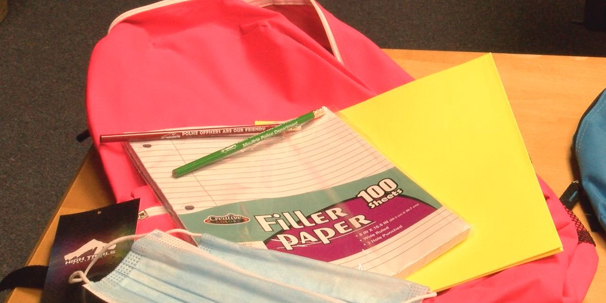 Moultrie Police Dept. to prepare children for school with backpack giveaway