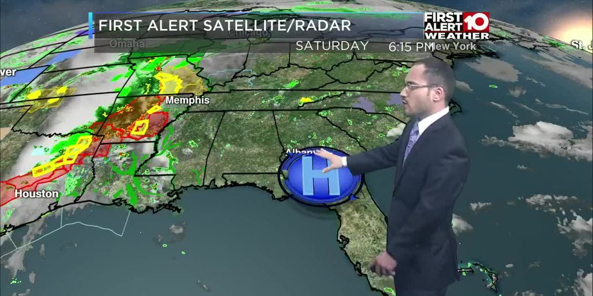 First Alert Forecast 6 pm Saturday