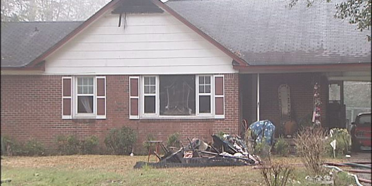House fire displaces family of three