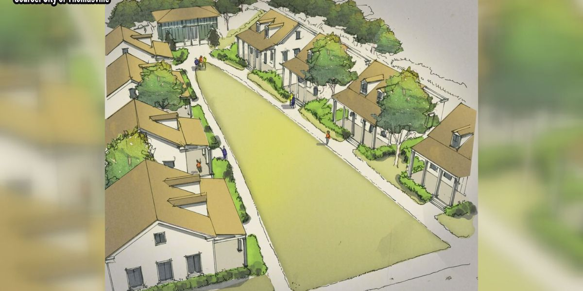 Thomasville Planning and Zoning Commission approves 'cottage court' concept
