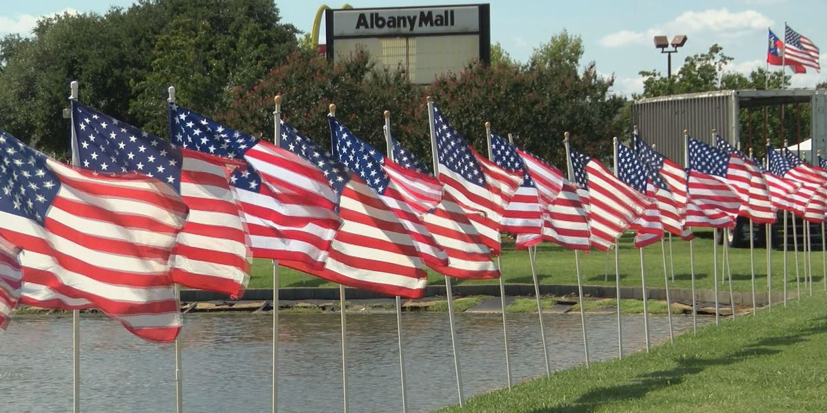 Memorial site at Albany mall erected ahead of 9/11 anniversary