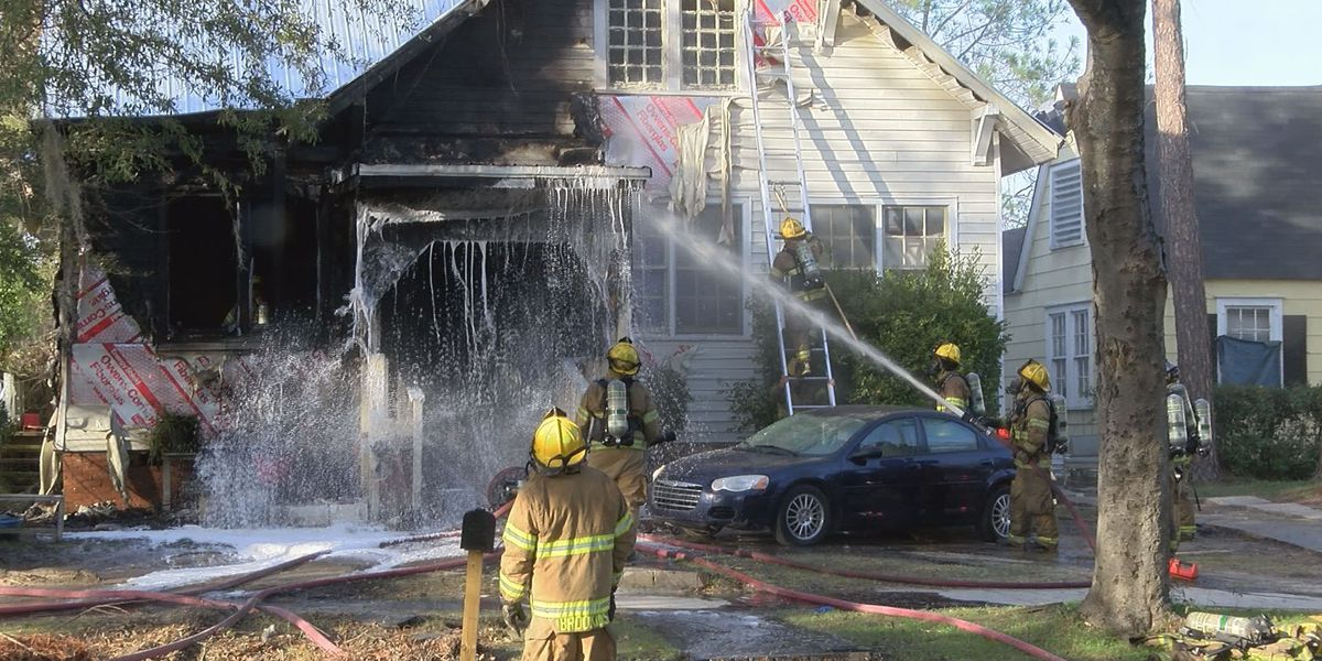 AFD responds to fire on West Society Avenue