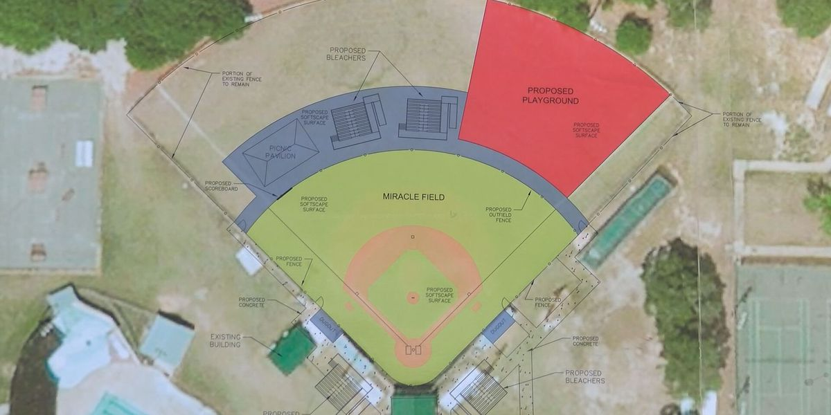 Douglas Miracle Field accepting donations to help children play baseball